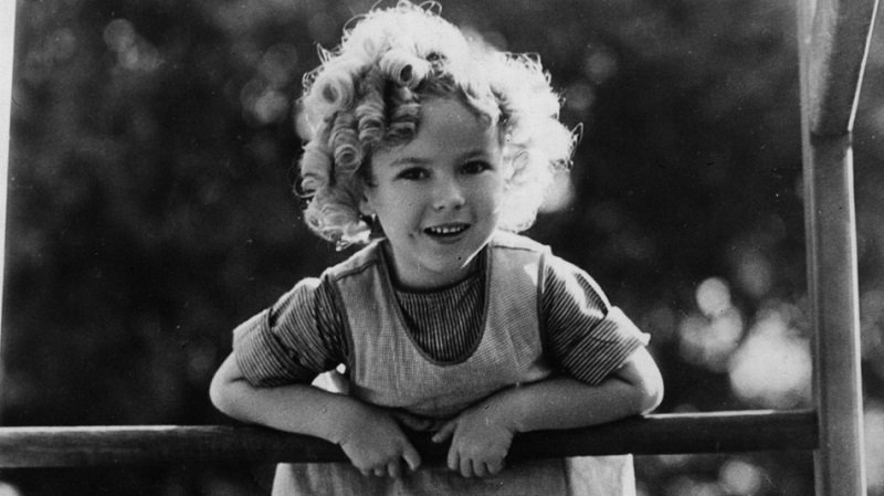 Shirley Temple Black Adorable Child Actress