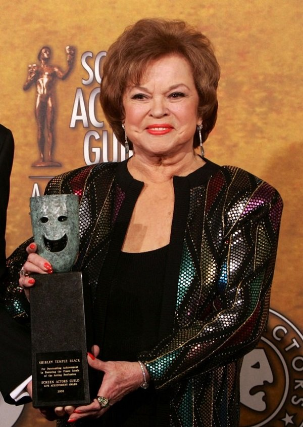 Shirley Temple Wins Screen Actors Guild Award