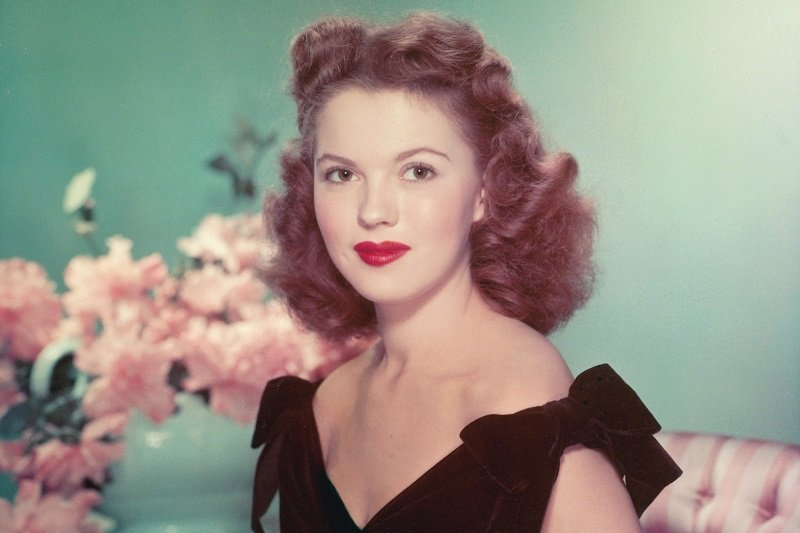Shirley Temple as a Teenager