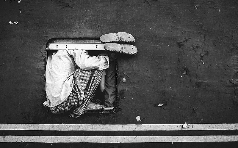Image of Homeless Boy from Photo Awards Shortlist