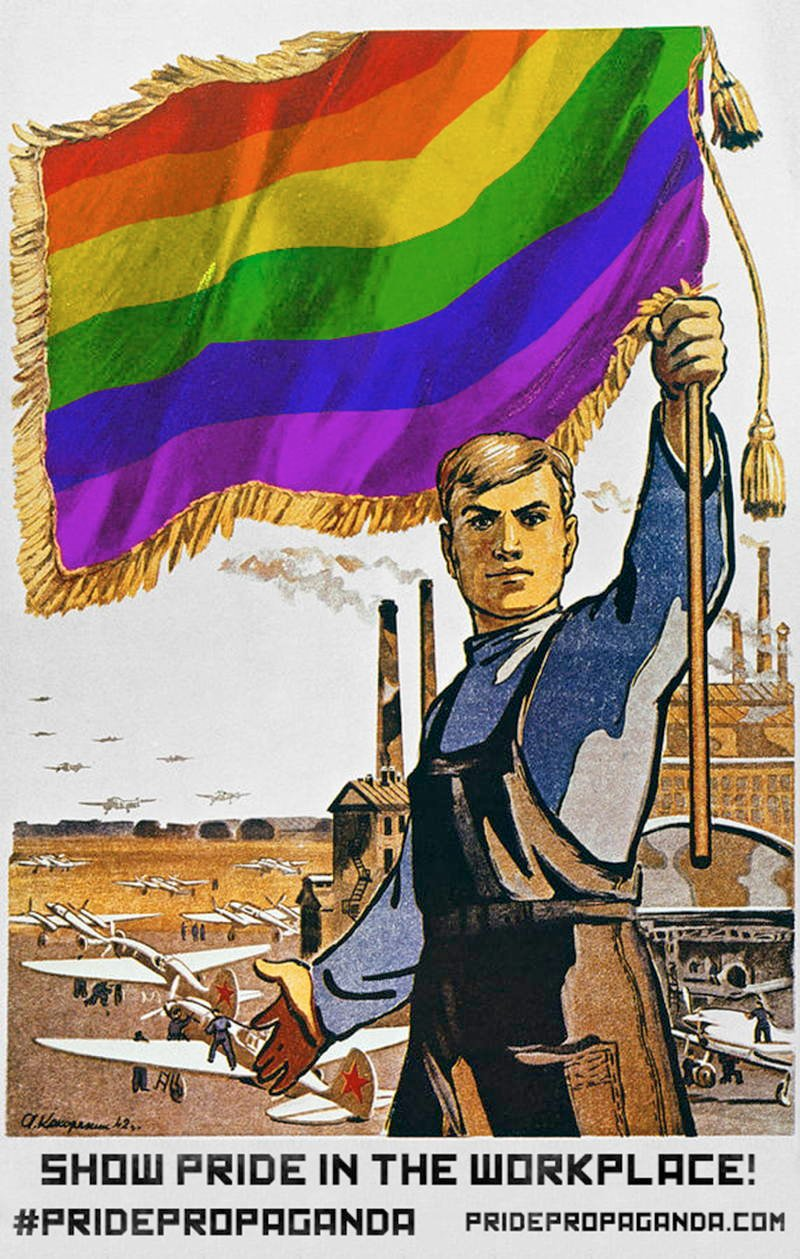 Soviet Pride Workplace