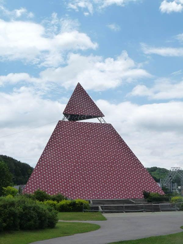 Strange Shrines Pyramide Landscape