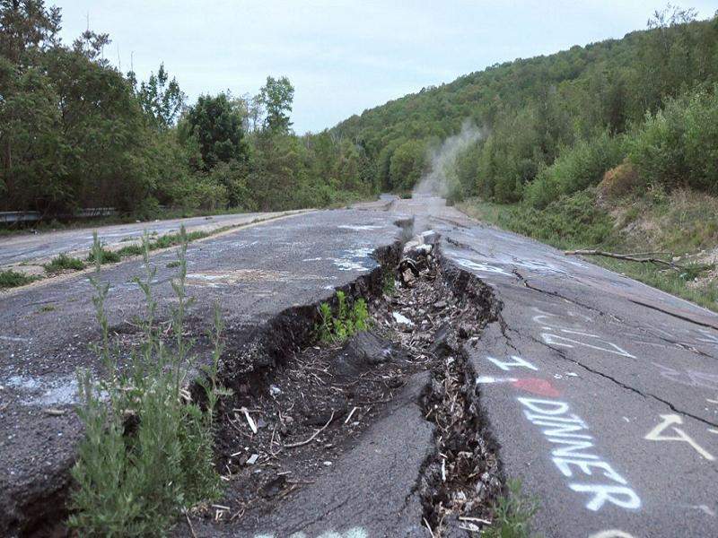 Three Places Centralia Abandoned
