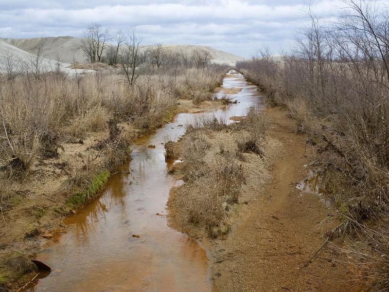 Three Places Tar Creek