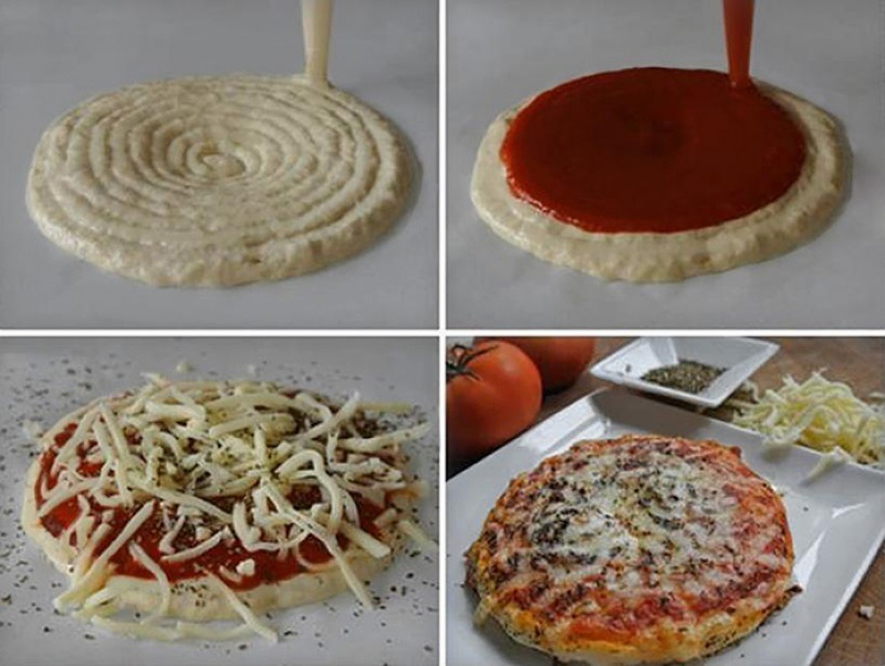 NASA Funds 3D Pizza Printer
