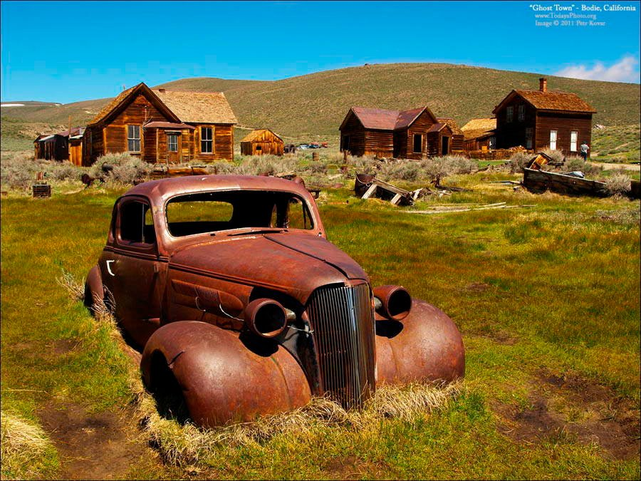 Abandoned Cities Bodie Private Parking