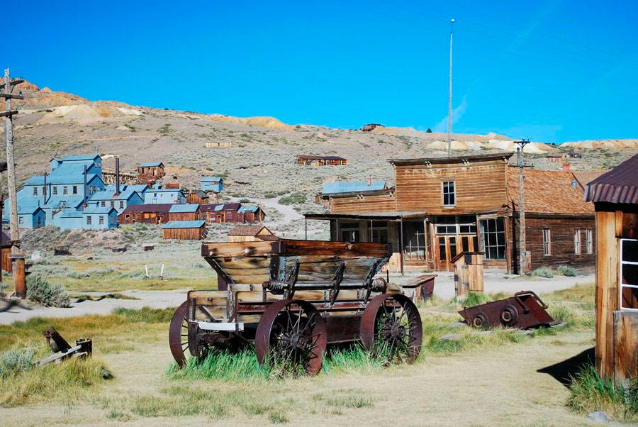 Abandoned Cities Bodie Wagon