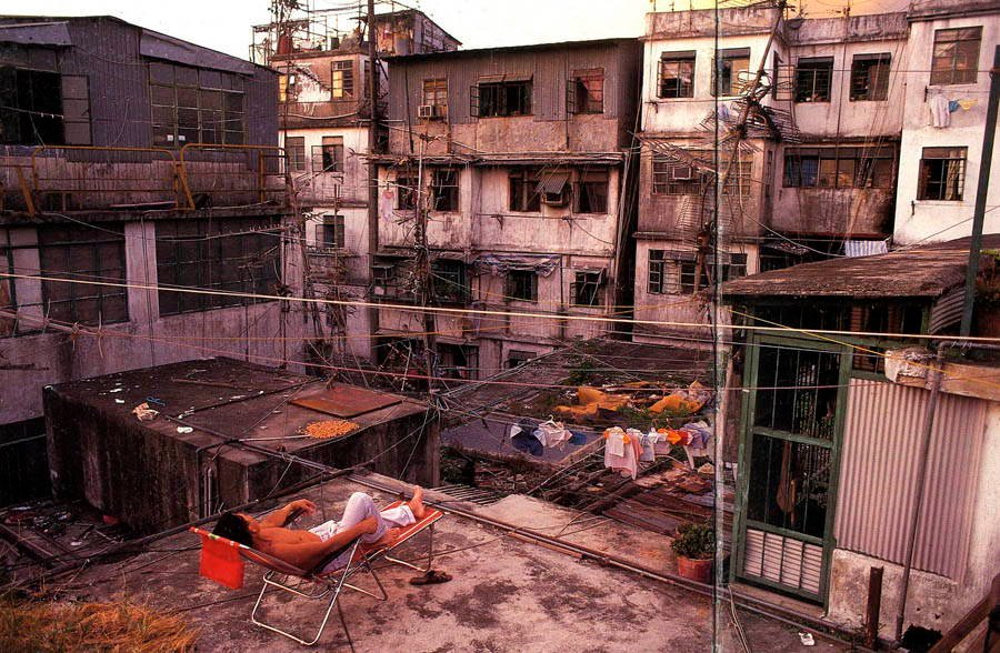 Abandoned Cities Kowloon Rooftop