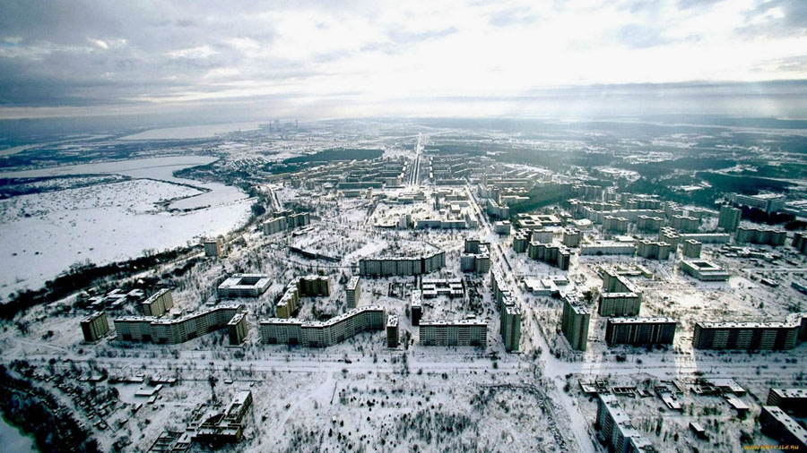 Abandoned Cities Pripyat City View