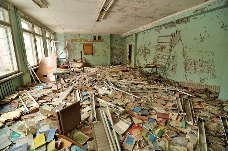 Abandoned Cities Pripyat Schoolhouse
