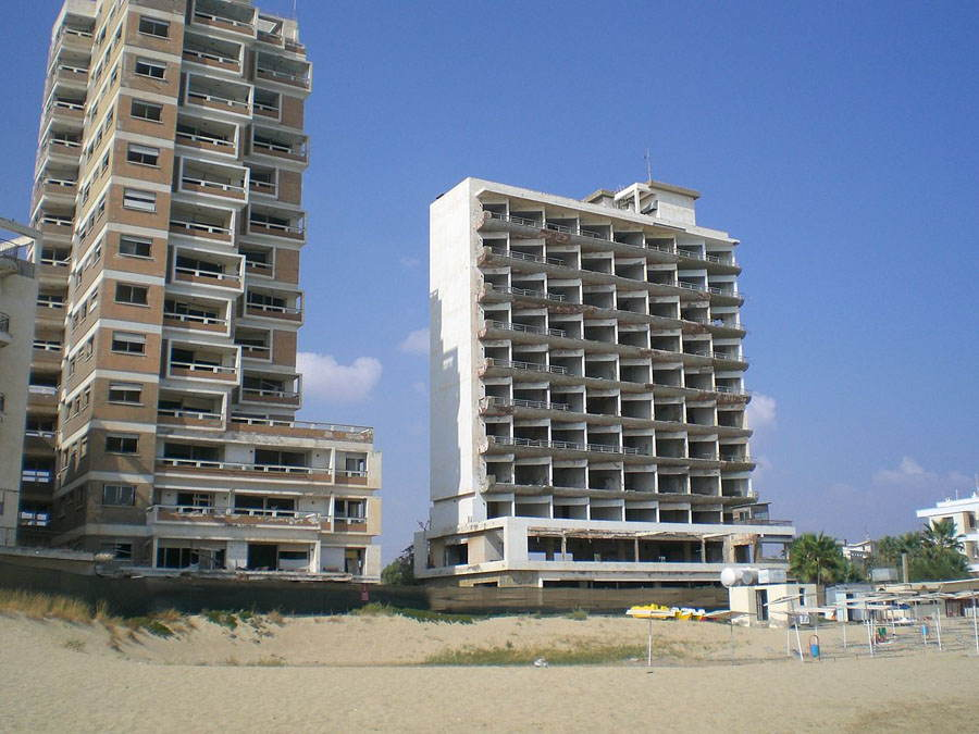 Abandoned Cities Varosha Apartments