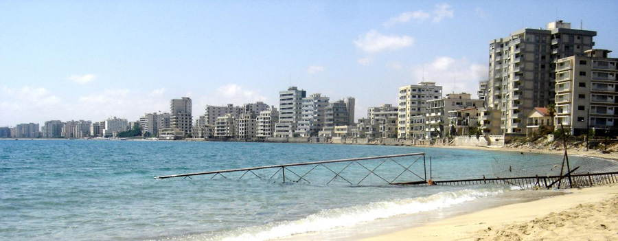 Abandoned Cities Varosha Coastline