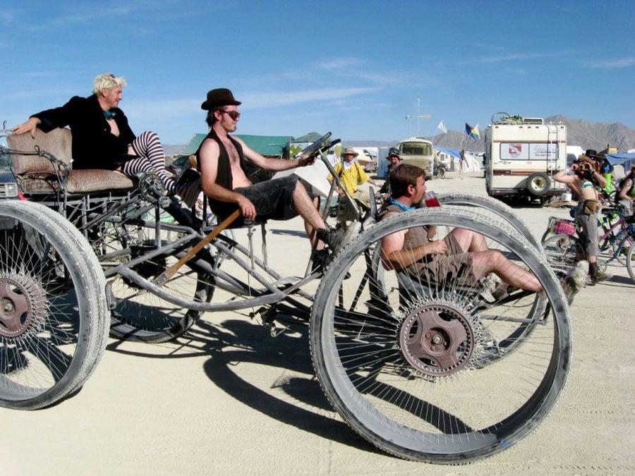 Burning Man Metal Buggy