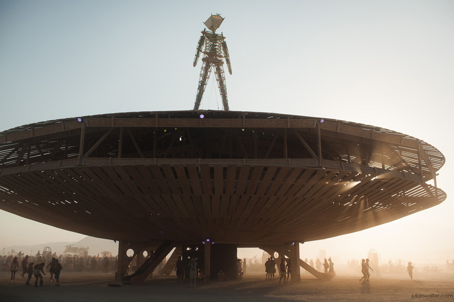 Burning Man UFO