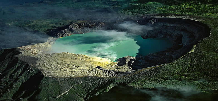 Inside Kawah Ijen Volcano