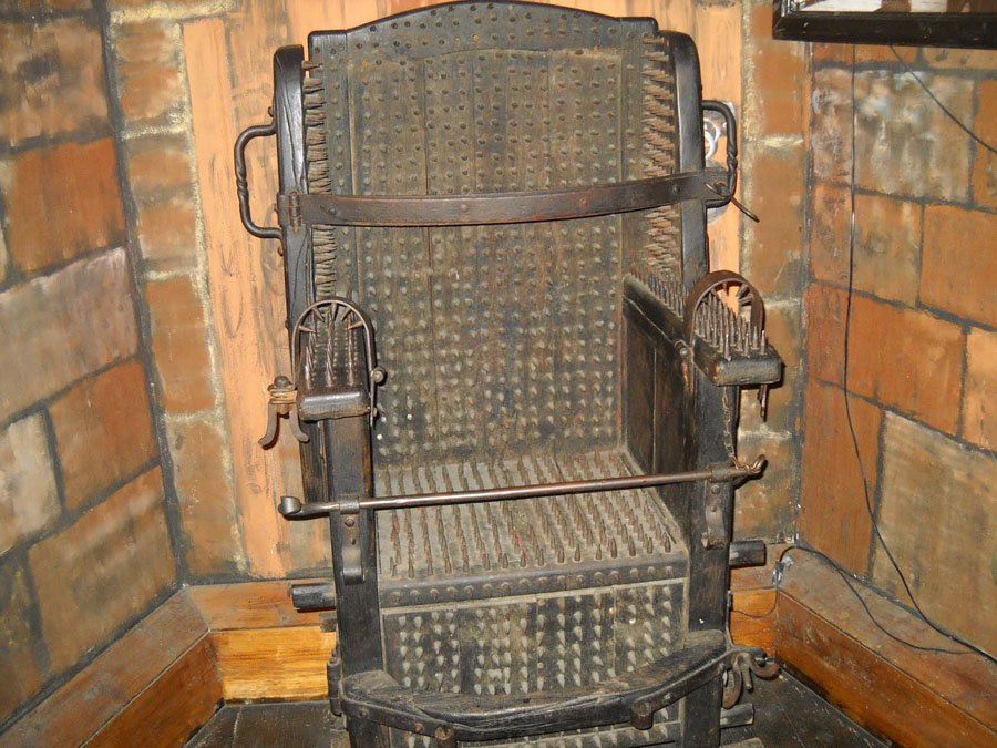 Strange Museums Torture Chair