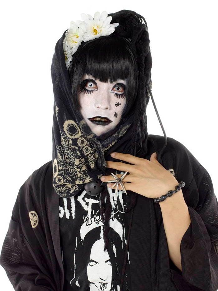 Harajuku Fashion Black Geisha