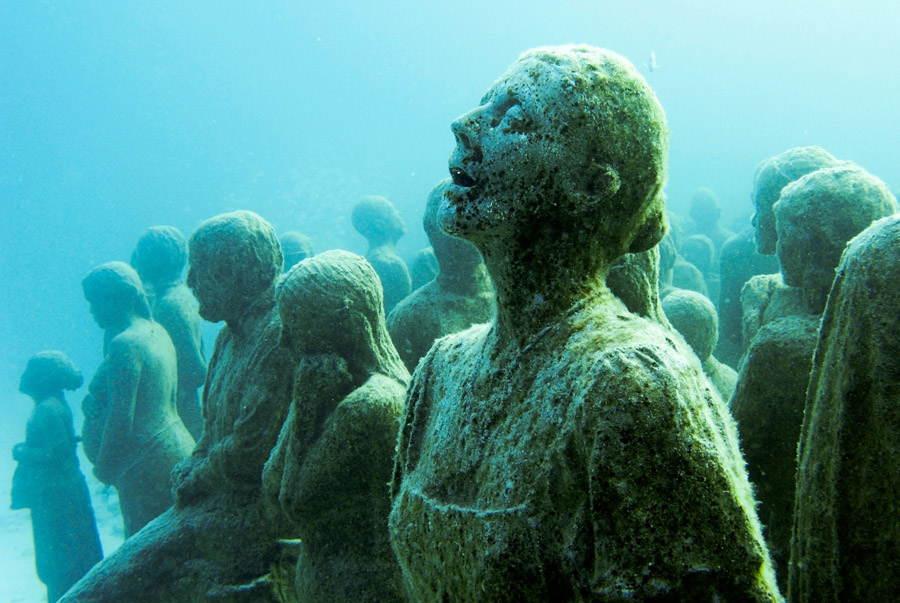 Underwater Museum Last Gasp