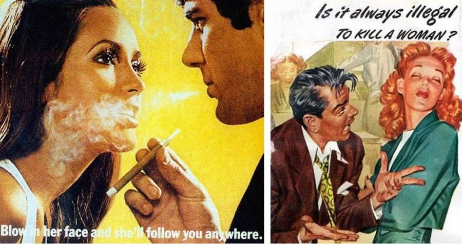 35 Hilariously Offensive Vintage Ads You Have To See To Believe