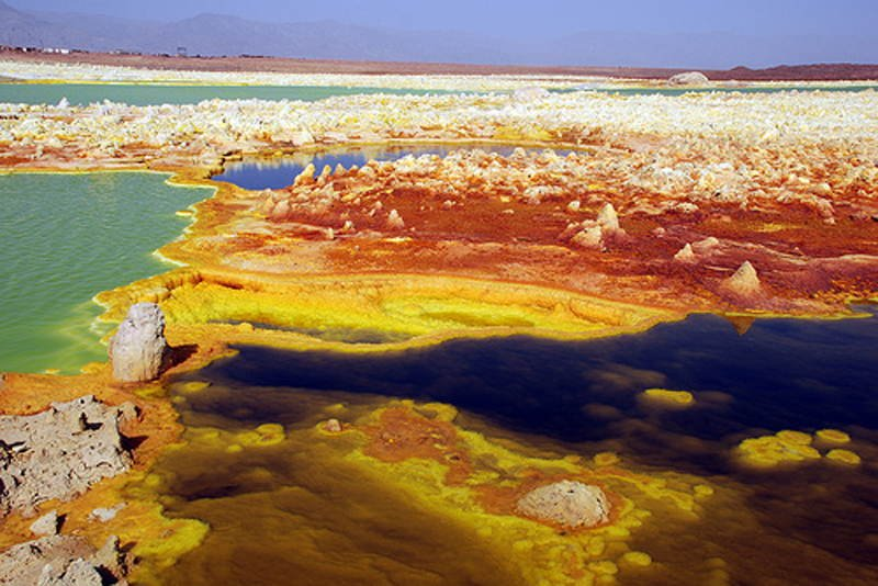 Dangerous Places Dallol Geysers