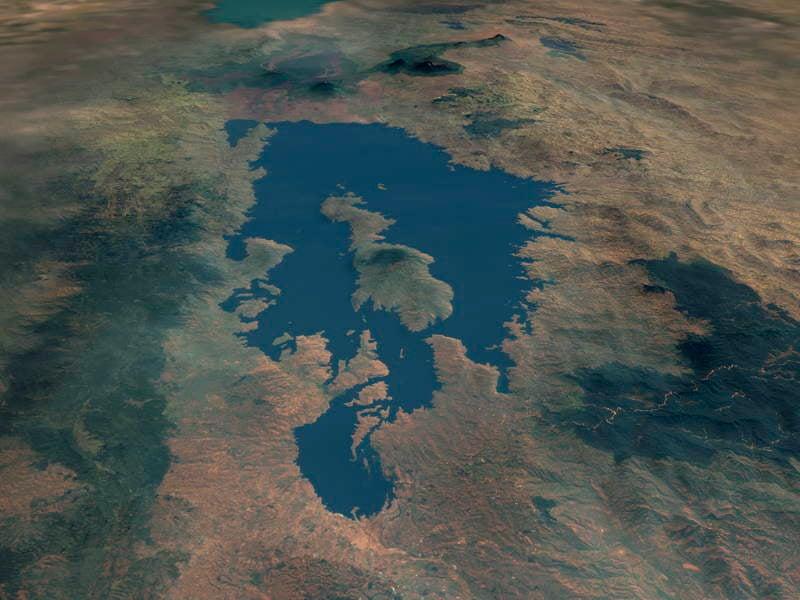 Dangerous Places Lake Kivu