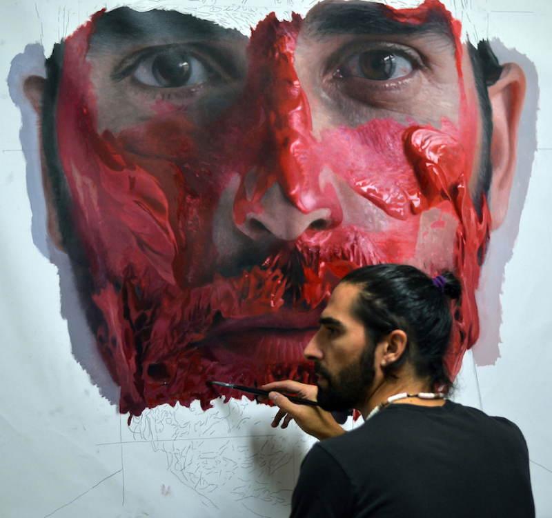 Hyper Realistic Portraits Of Eloy Morales