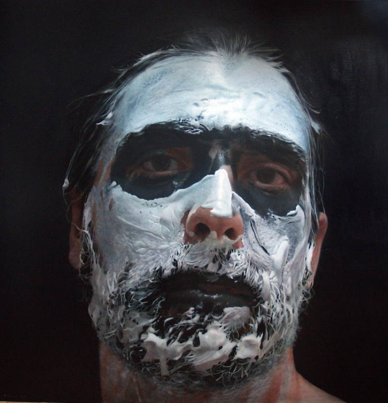 Eloy Morales White Paint