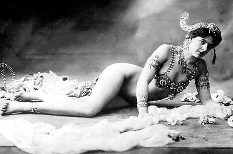 Famous Spies Mata Hari Ling Down