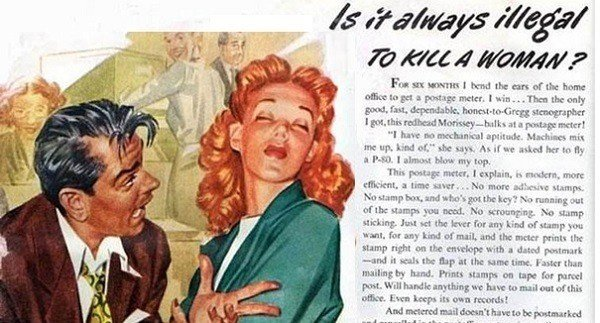 35 Hilariously Ridiculous And Completely Sexist Vintage Ads