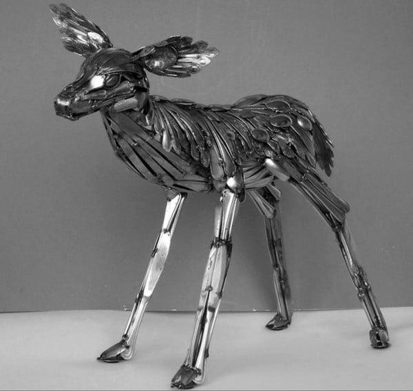 Flatware Deer