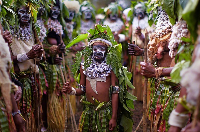 Andrew Newey New Guinea Tribes