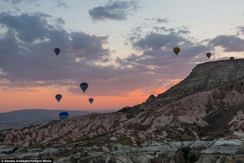 Hot Air Balloons By Alessio Andrean