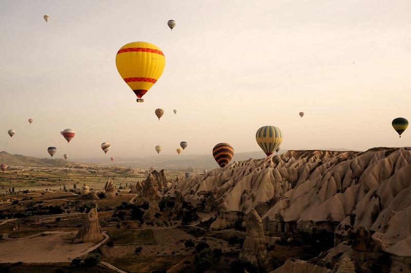 Foggy Day in Cappadocia