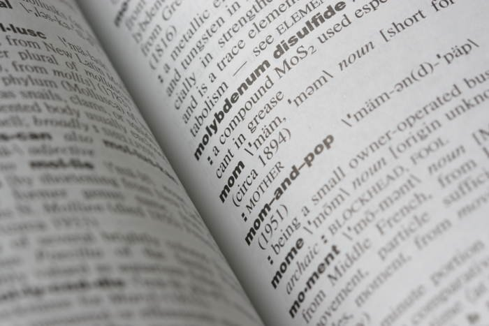 Interesting Words Dictionary