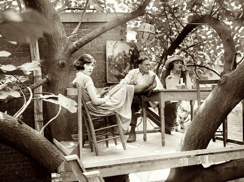 Krazy Kat Club In 1921