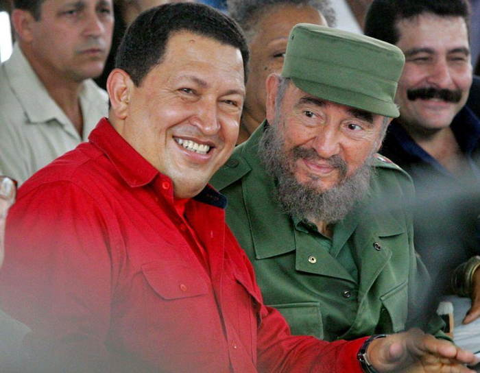 World Leader Pranks Chavez Castro