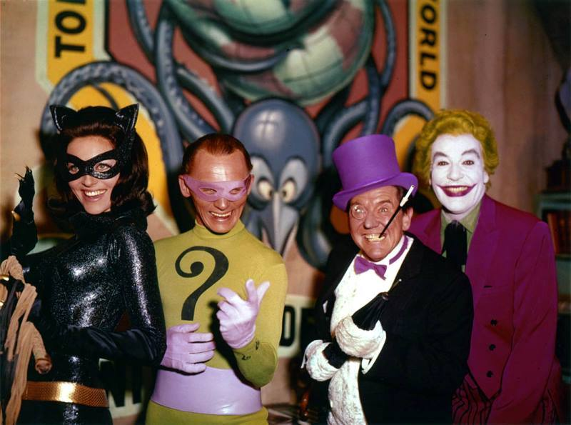 Old School Villians
