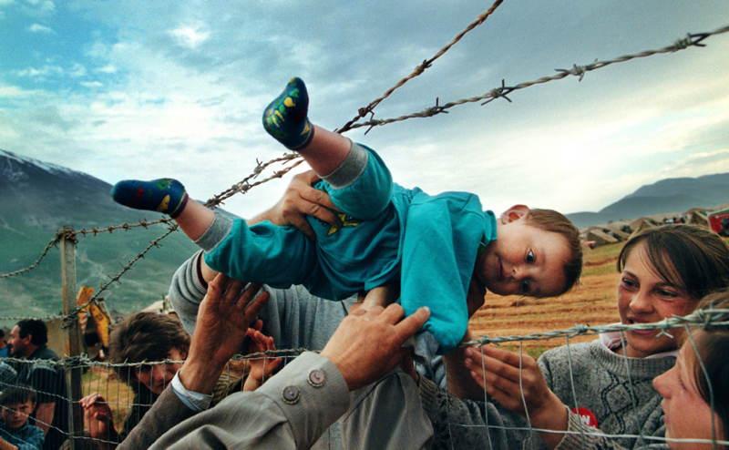 Influential Photographs Albania Baby