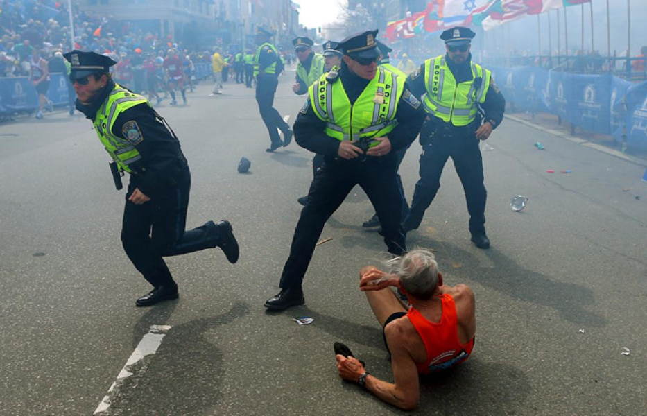 Famous Photographs From The Boston Marathon Bombing