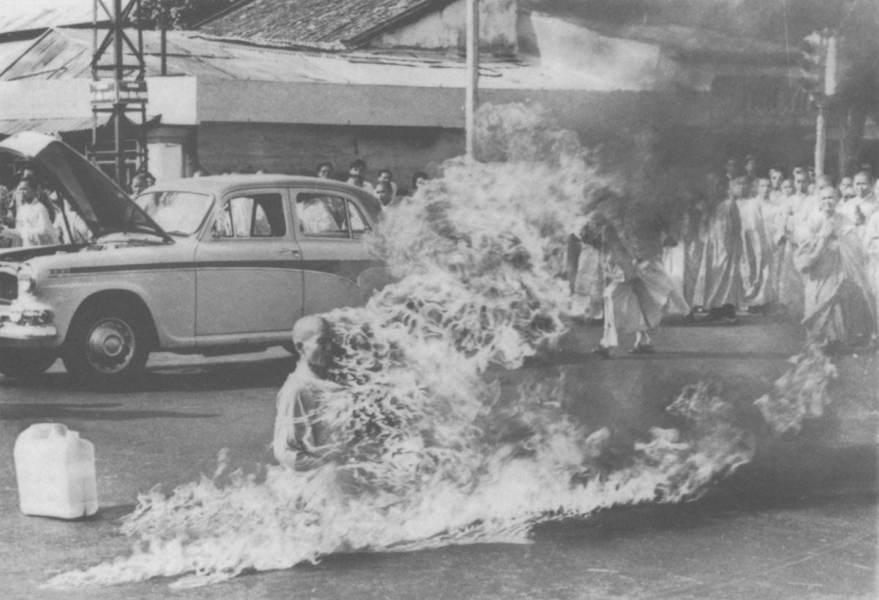 Buddhist Monk Self-Immolation