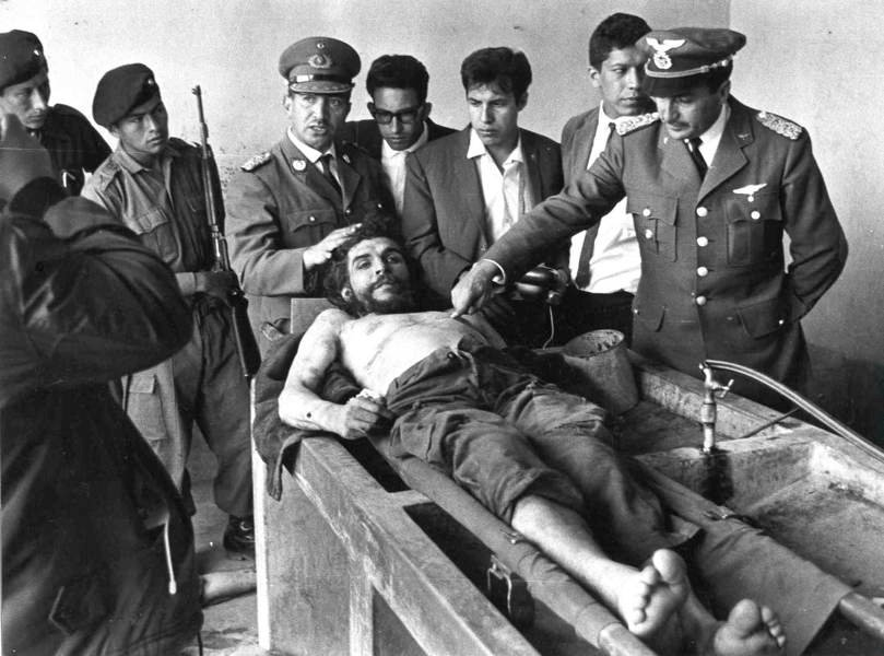 Influential Photographs Death Of Che