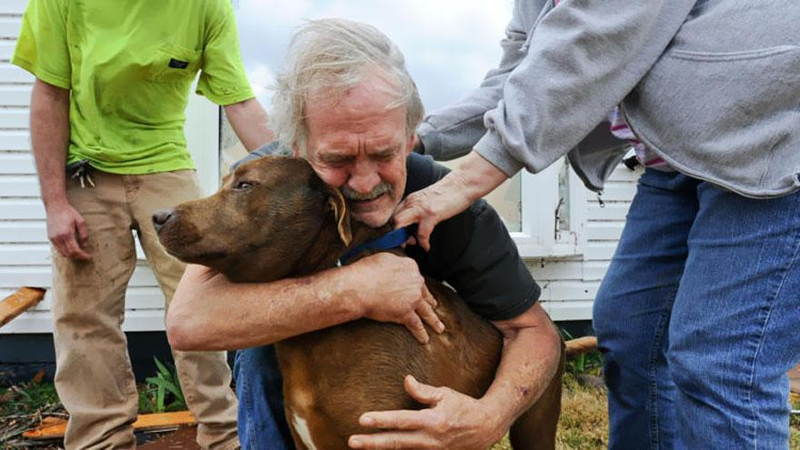 Man Reunited With Dog