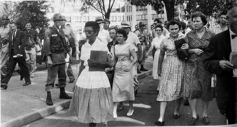 Dorothy Counts Desegregation