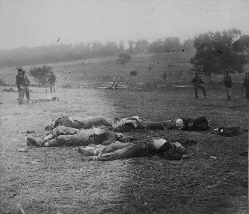 Famous Photos Dead At Gettysburg