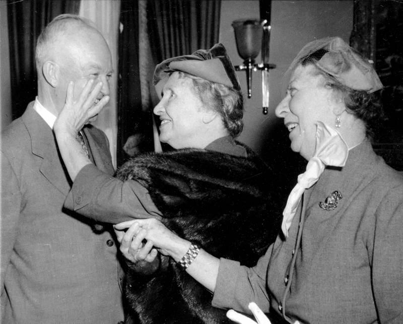 Helen Keller Meets Eisenhower