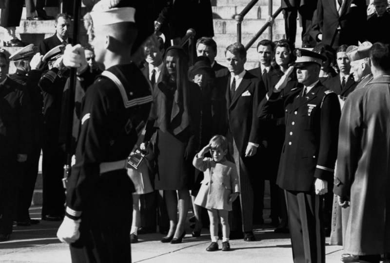 JFK Jr. At His Father's Funeral