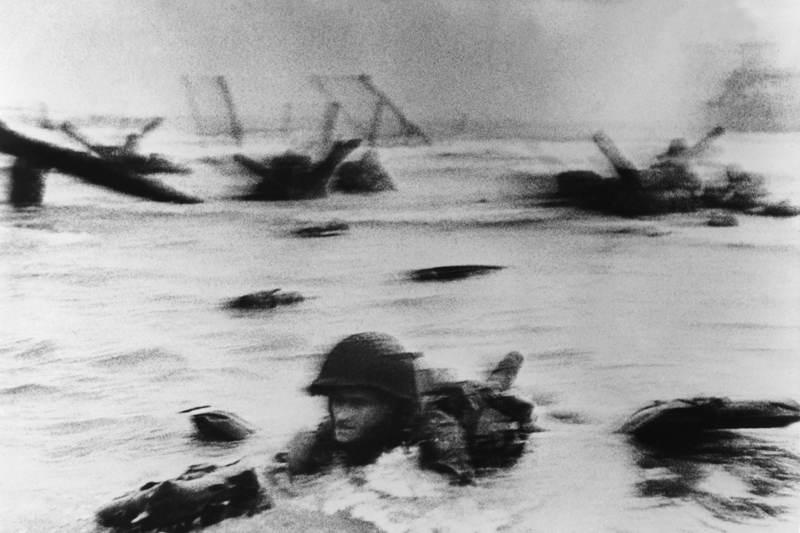 Famous Photos Normandy Invasion