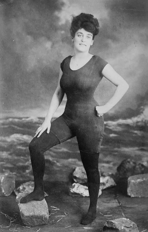 Annette Kellerman One Piece Bathing Suit