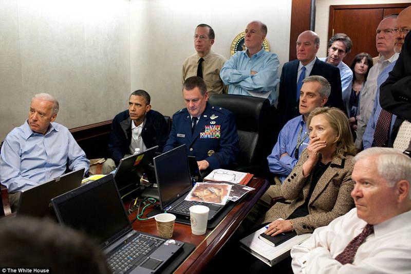 White House During Osama Bin Laden Raid