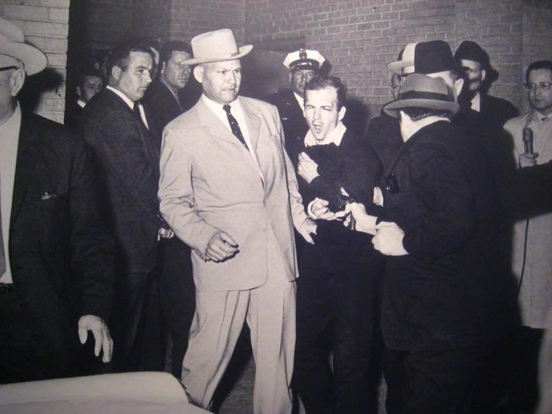 Lee Harvey Oswald Shooting